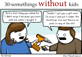 how different age groups celebrate christmas the oatmeal