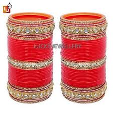 Indian Wedding Chura Indian Ethnic Red Wedding Chura Fashion Jewelry Choora Bridal