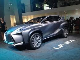 lexus lf nx 2013 frankfurt toyota and lexus debuts far from conservative