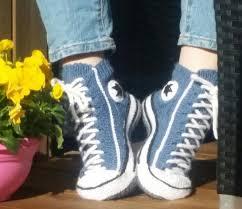 pattern crochet converse slippers crochet sneaker slippers patterns