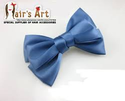 handmade hair bows 2018 fashion handmade hair bows with hair boutique blue