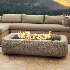 Real Flame Fire Pit - real flame limestone propane fire pit u0026 reviews wayfair