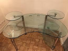 bureau en verre bureau en verre roche bobois