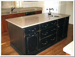 black distressed kitchen island distressed kitchen island with seating black oak home styles