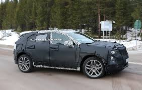 cadillac small suv 2018 cadillac xt3 compact suv spied better late than never