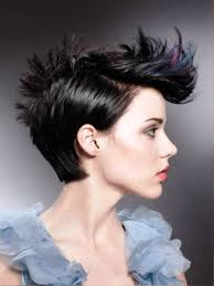 pictures of women punk short hairstyles