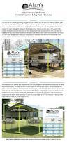carport styles buy rv metal carports to protect your mobile home great prices