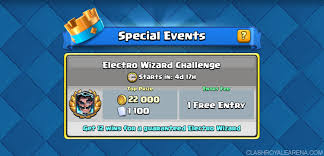 free clash of clans wizard electro wizard challenge best tips and decks