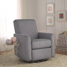 captivating glider recliner chair home furnishings on rocking for