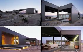 modern desert home design modern prefab house in desert hot springs