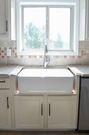 what is a farmhouse sink kitchen progress installing the farmhouse sink