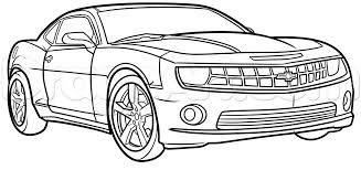 lamborghini aventador drawing outline how to draw a yellow camaro step by step cars draw cars online