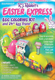 easter egg coloring kits easter express egg coloring kit and egg easter