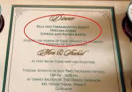 unnoticed details of shahid kapoor mira rajput wedding card