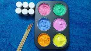 how to make frozen paint for kids colors for children to learn