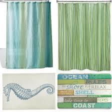 Nautical Bath Rug Sets Blue And Green Shower Curtain Bath Rug Combo Ideas Http Www