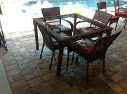 outdoor glass table top replacement wonderful awesome glass patio table top replacement patio table and