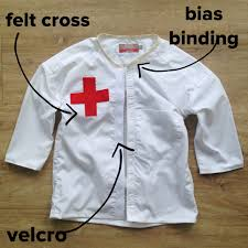 Diy Halloween Shirts Up Cycling Daddy U0027s Old Shirt In To A Doctor U0027s Coat For Dressing Up