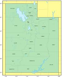 Utah Map With Cities And Towns by Counties Map Of Utah U2022 Mapsof Net