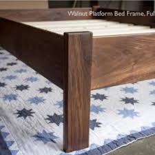 Walnut Bed Frames Beds Bed Frames And Headboards Custommade