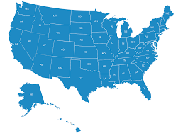 Florida On Map by Nationwide Equities Corporation