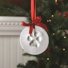 the aisle santa s lucky memory paw print ornament kit