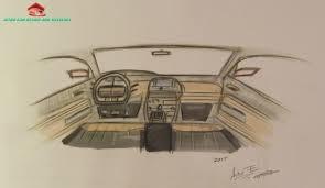 lexus interior sketch car interior design sketch bocetage diseño de interior de un