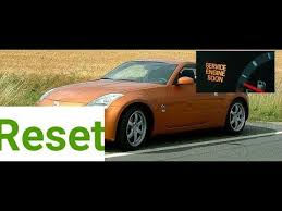 2004 nissan 350z service engine soon light how to reset service engine soon light on a 2008 nissan 350z