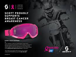 motocross goggles for glasses scott limited edition breast cancer goggles transworld motocross