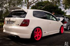 honda civic type r on rays gram light 57d wheels rides u0026 styling