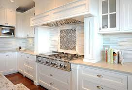 white cabinets and backsplash home interior design