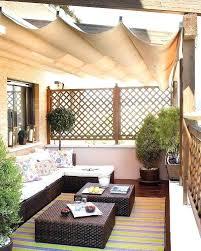 kleine balkone sonnenschutz fur balkon sichtschutz fa 1 4 r den balkon markisen