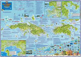 Map Of The Virgin Islands U S Virgin Islands Dive U0026 Adventure Guide Usvi Dive Map Franko