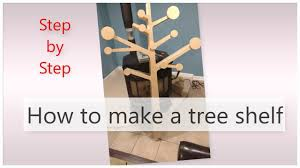 Babyletto Tree Bookcase White by How To Make A Tree Shelf Youtube