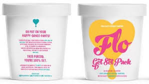 Flo Flo The Startup Selling Organic Tampons In Ice Cream Tubs The