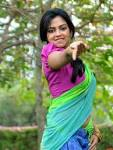 Amala Paul Hot in Colorful Half Saree Pics from Iddarammayilatho