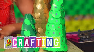 How To Craft A Duct Tape Christmas Tree Decor Youtube