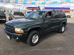1999 dodge durango slt 1999 dodge durango slt 4dr 4wd suv in salida co speedy auto