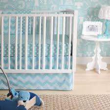 Soft Blue Color Calm And Soft Baby Nursery With Pink And Yellow Color Scheme