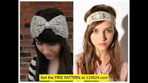 crochet headbands how to crochet headbands for adults
