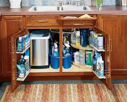 how to organize the sink cabinet 30 ways to declutter your kitchen home diy organization
