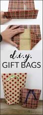 how to make a diy gift bag for christmas wraps learning and