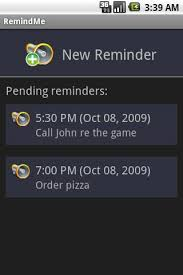add reminder in android remindme apk from moboplay