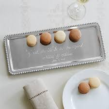 personalized serving dish personalized platters serving trays at personal creations