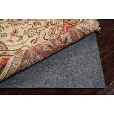 rug pads for area rugs rug padding u0026 grippers rugs the home depot