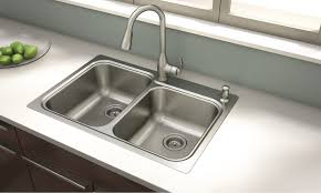 kitchen faucets and sinks new moen kelsa faucet and sink combination offers intuitive