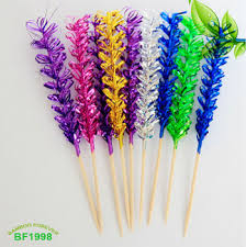 wooden decorative floral picks for wholesale buy