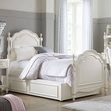 charlotte low poster bed antique white hayneedle