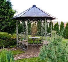 Wrought Iron Pergola by Astounding Wrought Iron Gazebo Rental Garden Landscape