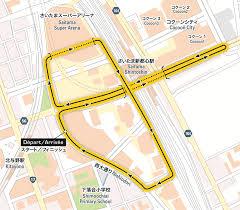 Map Of Tour De France by Le Tour De France Saitama Criterium